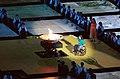 201000 - Opening Ceremony athletics competitor Louise Sauvage flame lighting 11 - 3b - 2000 Sydney opening ceremony photo.jpg