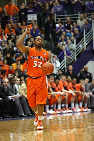Illinois Fighting Illini men's basketball - Former Fighting Illini Demetri McCamey