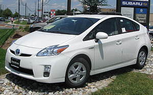 2010 Toyota Prius photographed in Gaithersburg...