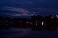 2012-05-09 (21) Illumination auf dem Wasser rechts der Bootsvereine kennzeichnete den Ort der Bücherverbrennung.jpg