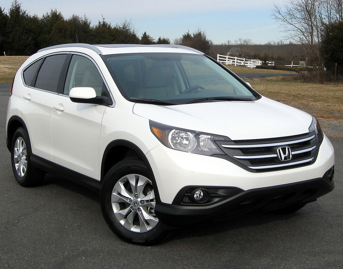 Honda Greensburg Indiana >> Honda CR-V - Wikipedia