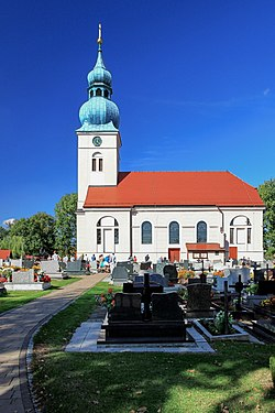 2012 Powiat pszczyński, Studzionka, Kościół Wniebowzięcia NMP (02).jpg