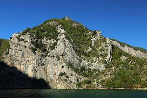 Lake Koman Ferry - Image: 2013 10 04 Lake Koman, Albania 1032