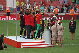 Emirates Cup - Galatasaray was the first Turkish club to win the Emirates Cup.