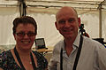 2013 IPC Athletics World Championships - 26072013 - Elizabeth Hudson and Andy Swiss of the BBC.jpg