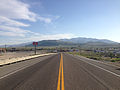 2014-06-10 18 21 15 View south along U.S. Route 93 a little north of Nevada State Route 223 in Wells, Nevada.JPG