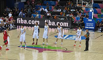 South Korea national basketball team - South Korea's starting lineup in 2014