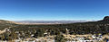 2015-01-14 12 32 15 Panorama east toward some low clouds from the Lehman Caves Visitor Center in Great Basin National Park, Nevada.JPG