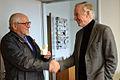 2015-01-22 Besuch bei Professor Erich Barke, Dipl.-Ing. Helmut Konietzny wg. Leibniz-Verfilmung, (11).JPG