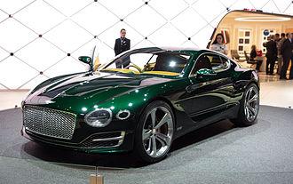 Bentley EXP 10 Speed 6 - The Bentley EXP 10 Speed 6 concept at the 2015 Geneva Motor Show