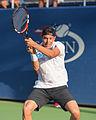 2015 US Open Tennis - Qualies - Jose Hernandez-Fernandez (DOM) def. Jonathan Eysseric (FRA) (20955951582).jpg