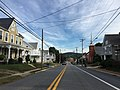 2016-09-21 08 45 02 View north along Maryland State Route 17 (Main Street) between Cedar Street and Poplar Street in Myersville, Frederick County, Maryland.jpg