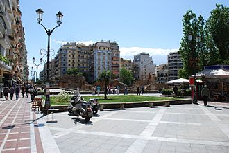 Navarinou Square - View of the square
