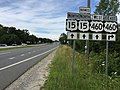2017-06-27 16 49 33 View north along U.S. Route 15 (Farmville Road) at U.S. Route 15 Business (Main Street) and U.S. Route 460 (Prince Edward Highway) just south of Farmville in Prince Edward County, Virginia.jpg