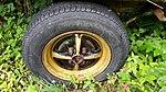 2017-07-29 (04) Dunlop SP 6 175-70 R 13 82 T tire at Haltgraben .jpg