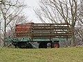 2018-01-28 (180) Old loader wagon at Kerschbaum in Kirchberg an der Pielach.jpg