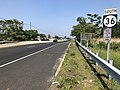 2018-05-25 15 23 39 View south along New Jersey State Route 36 between Shore Road and Harris Avenue on the border of Hazlet Township and Union Beach in Monmouth County, New Jersey.jpg
