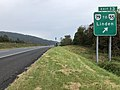 2018-10-15 12 43 50 View east along Interstate 66 at Exit 13 (Virginia State Route 79 TO Virginia State Route 55, Linden) in Linden, Warren County, Virginia.jpg