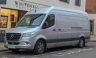 Mercedes-Benz Sprinter 2018 Mercedes-Benz Sprinter 314 CDi 2.1 Front.jpg
