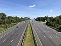 2019-09-03 10 51 56 View north along U.S. Route 29 (Columbia Pike) from the overpass for Seneca Drive in Columbia, Howard County, Maryland.jpg