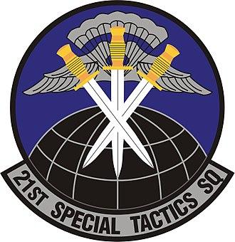21st Special Tactics Squadron - Image: 21st Special Tactics Squadron insignia