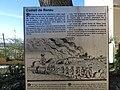 222 Rètol informatiu sobre el Castell de Renau, a la plaça de l'Església.jpg