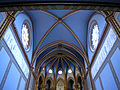 224 Santuari de la Misericòrdia (Canet de Mar), sostre de la nau.JPG