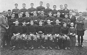 Fred Pickhard - The 1922 Mobile High football team includes Pickhard.
