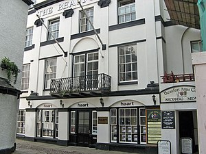 The Beaufort Arms Hotel, Monmouth - Image: 22 Beaufort Arms Ct Beaufort Hotel H Tsmall