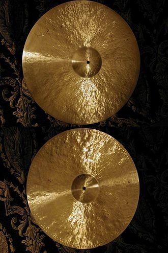 "Cymbal manufacturers - 22"" Spizzichino ride"
