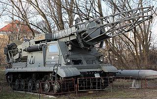 R-11 Zemlya Soviet tactical ballistic missile