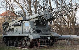 R-11 Zemlya - 9U218 launcher (rocket without a warhead)