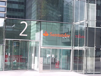 Santander UK - Santander UK head office, Triton Square, London
