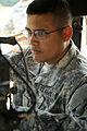 2nd Lt. Victor Dominguez trains on tactical communication (7650661484).jpg