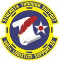 305 Logistics Support Sq (later 305 Maintenance Operations Sq) emblem.png