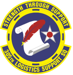 305 Logistics Support Sq (later 305 Maintenance Operations Sq) emblem.png