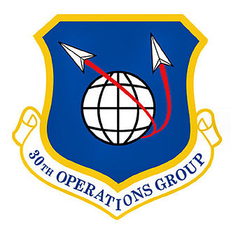 Vandenberg Air Force Base - Image: 30thoperationsgroup emblem