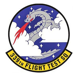 339th Flight Test Squadron - Image: 339th Flight Test Squadron Emblem