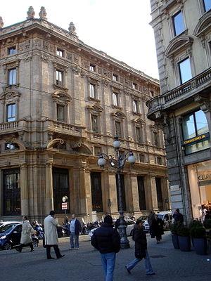 Italiano: Veduta laterale del Palazzo delle As...