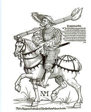Landsknecht - A Landsknecht Brandmeister (1535)