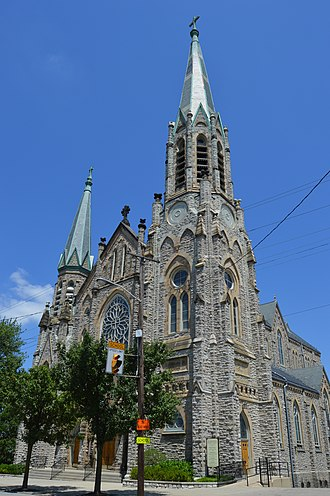 St. Lawrence Church (Cincinnati) - Front and southeastern side