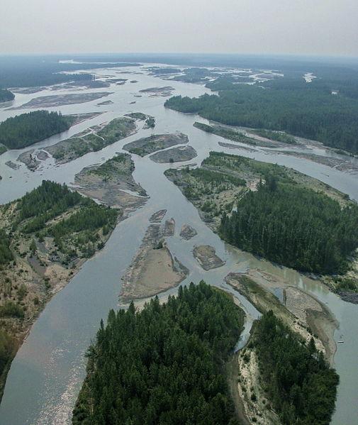 File:3 Rivers Joining at Talkeetna, Alaska.jpg