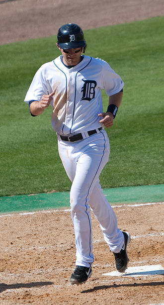 Adam Everett - Everett with the Detroit Tigers