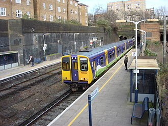 South Hampstead railway station - Image: 508302 at South Hampstead