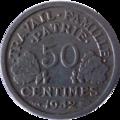 50 centimes état français revers.png