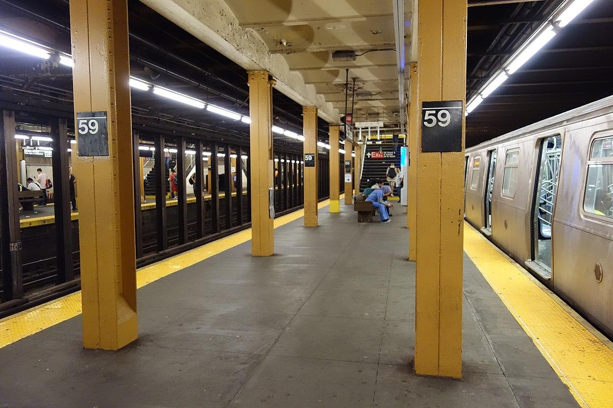 59th Street (BMT Fourth Avenue Line) - Wikipedia
