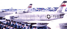 63d Fighter-Interceptor Squadron North American F-86A-5-NA Sabre 49-1223.jpg