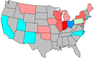 United States House of Representatives elections, 1916 - Image: 65 us house changes