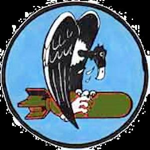 741st Missile Squadron - Image: 741st Bombardment Squadron Emblem