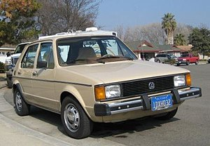 Volkswagen Westmoreland Assembly - Volkswagen Rabbit manufactured at Westmoreland Assembly
